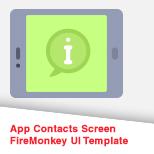 App Contact Screens
