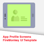 App Profile Screens