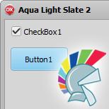 Aqua Light Slate 2 VCL Style