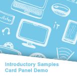 Card Panel Demo