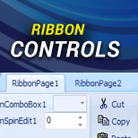 Ribbon Classic Controls