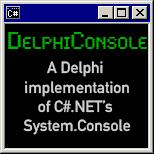 Delphi Console
