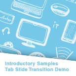 Tab Slide Transition Demo (C++)