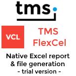 (Trial) TMS FlexCel for VCL && FMX