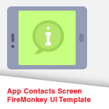App Contacts Screen