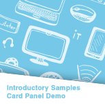 Card Panel Demo (Delphi)