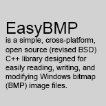 EasyBMP 1.0.2021.02 from February 18, 2021