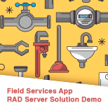 RAD Server Field Services Demo