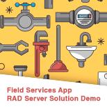 RAD Server Field Services Demo