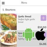 Restaurant Ordering Template