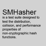 SMHasher