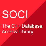 SOCI - The C++ Database Access Library