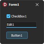 VCL Style - Windows11Dark