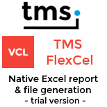 Trial - TMS FlexCel for VCL & FMX