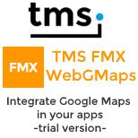 Trial - TMS FMX WebGMaps
