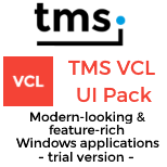 Trial - TMS VCL UI Pack