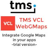 Trial - TMS VCL WebGMaps